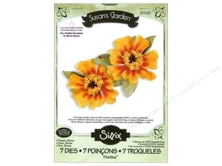 Non-Profits $5 - $8: Sizzix Thinlits Die Set 7PK Flower Zinnia by Susan Tierney