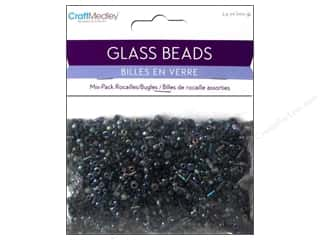 Beads Black: Multicraft Beads Rocailles/Bugle Black