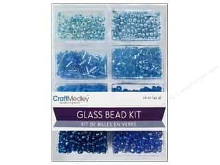 Multicraft Beads Glass Kit Mix The Blues