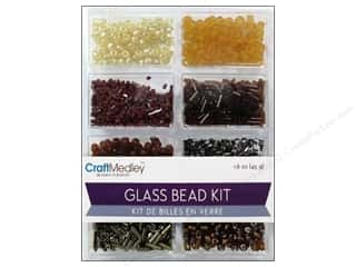 Multicraft Beads Glass Kit Mix Nuggets