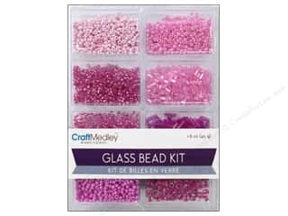 Multicraft Beads Glass Kit Mix Blush