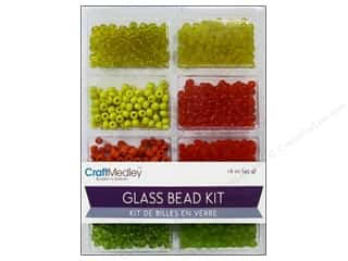 Multicraft Beads Glass Kit Mix Citrus