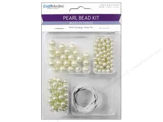 Multicraft Beads Pearl Kit 6/8/10mm w/Cord Ivory