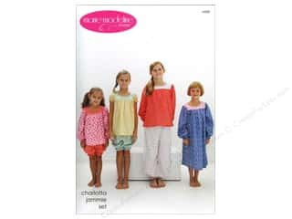 Sew Tea Girls $5 - $6: Marie Madeline Studio Charlotta Jammie Set Pattern