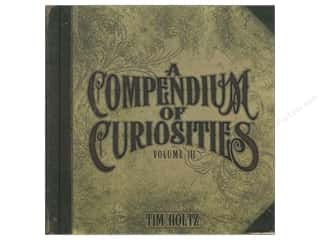 Bazooples Paper Craft Books: Tim Holtz A Compendium of Curiosities Volume III Book