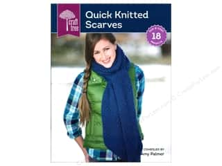 Craft Tree Quick Knitted Scarves Book