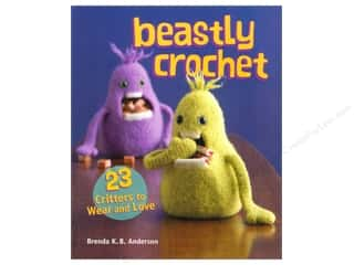 Doll Making Yarn & Needlework: Interweave Press Beastly Crochet Book