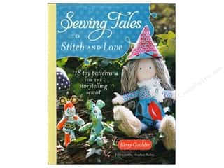 Doll Making Clearance Books: Krause Publications Sewing Tales To Stitch And Love Book