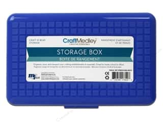 "Organizers Basic Components: Multicraft Organizer Storage Box With Lid 8""x 5""x 2 1/8"""