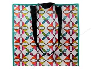 Tote Bag $30 - $100: Stash By C&T Tote Eco Posey Patch