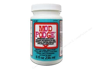 Glue and Adhesives Finishes: Plaid Mod Podge Dishwasher Safe Gloss 8oz