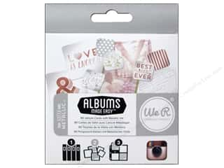 We R Memory Photo Sleeve Instagram: We R Memory Cards Albums Made Easy Instagram Sheer Metallic