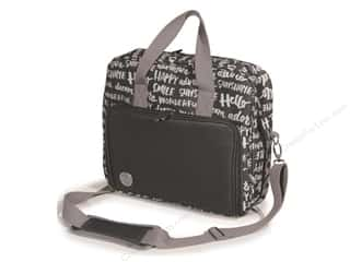 We R Memory Keepers inches: We R Memory Bag Shoulder Charcoal