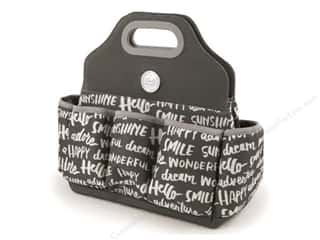 We R Memory Keepers Papers: We R Memory Bag Tote Charcoal