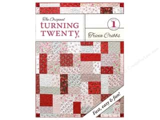 G.E. Designs Fat Quarters Books: Turning Twenty Book by Tricia Cribbs