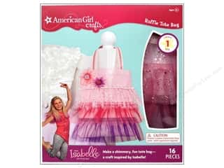 2013 Crafties - Best Adhesive: American Girl Kit Ruffle Tote Bag
