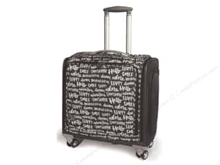 We R Memory Keepers Burgundy: We R Memory Bag Crafter's 360 Trolley Charcoal