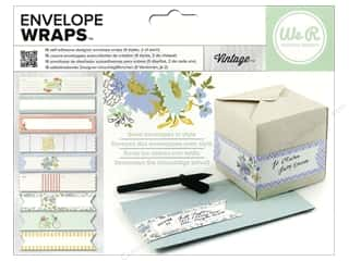 We R Memory Sticker Envelope Wrap Vintage