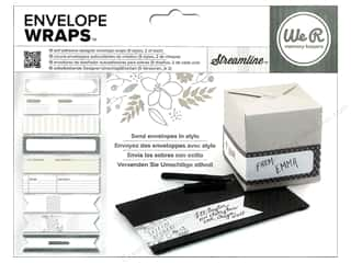 We R Memory Sticker Envelope Wrap Streamline