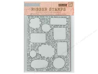 Stamps Foam Stamps: BasicGrey Rubber Stamps Capture - Talk Bubbles Background