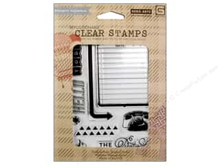 BasicGrey Clear Stamps 9 pc. Capture - The Details
