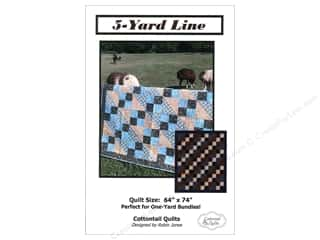 Yards: Cottontail Quilts 5-Yard Line Pattern