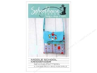 Tote Bags / Purses Patterns: Middle School Messenger Pattern