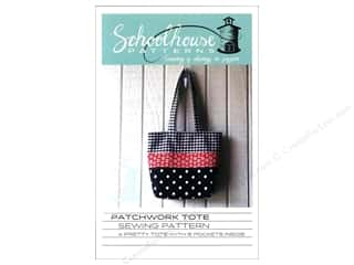 Purses $3 - $6: Schoolhouse Patchwork Tote Pattern