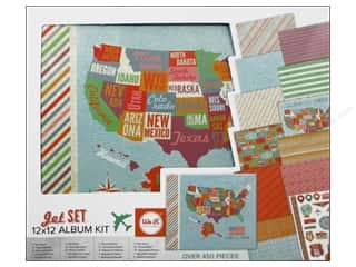 We R Memory Album Kit 12x12 Jet Set