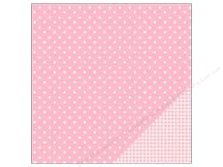 "Pebbles Inc $4 - $12: Pebbles Paper 12""x 12"" Basic Dot Peony (25 pieces)"