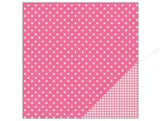 Pebbles Paper 12x12 Basic Dot Begonia (25 piece)