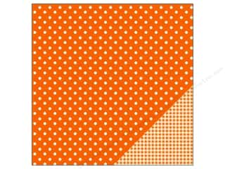 "Pebbles Inc $4 - $12: Pebbles Paper 12""x 12"" Basic Dot Apricot (25 pieces)"