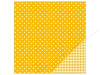 "Pebbles Inc $4 - $12: Pebbles Paper 12""x 12"" Basic Dot Honeycomb (25 pieces)"