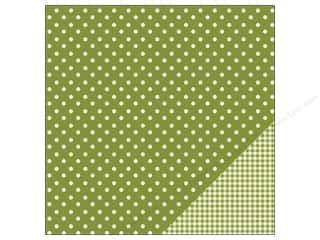 "Pebbles Inc 12 x 12: Pebbles Paper 12""x 12"" Basic Dot Leaf (25 pieces)"