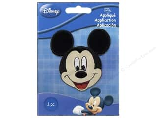 Simplicity Trim Black: Simplicity Disney Iron On Appliques Small Mickey Mouse
