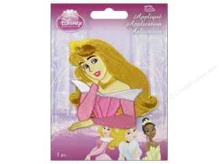 Wrights Embroidered Appliques: Simplicity Disney Iron On Appliques Small Aurora