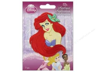 Licensed Products: Simplicity Disney Iron On Appliques Small Ariel