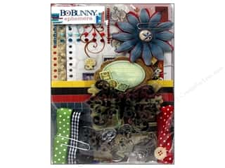 NEW EK Jolees Boutique Embellishments: Bo Bunny Embellishment Pop Quiz Ephemera