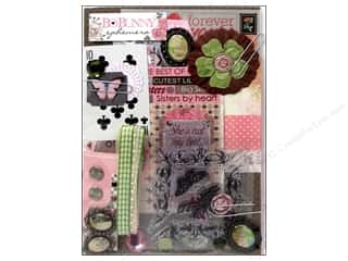 Craft Embellishments Scrapbooking & Paper Crafts: Bo Bunny Ephemera Primrose