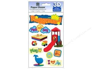 Paper House Sticker 3D Playground