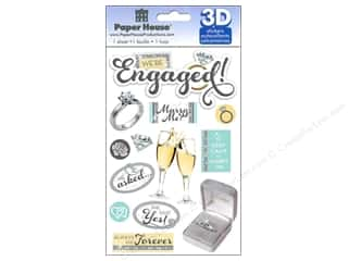 2013 Crafties - Best Adhesive: Paper House Sticker 3D Engaged
