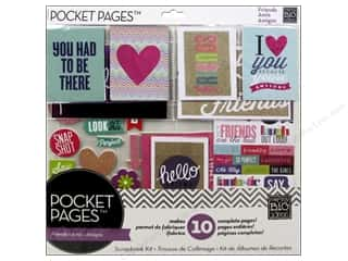 "Mother's Day Gift Ideas $5 - $10: Me&My Big Ideas Page Kit 12""x 12"" Pocket Pages Love My Friends"
