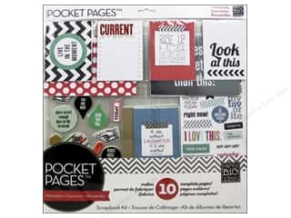"Mother's Day Gift Ideas $5 - $10: Me&My Big Ideas Page Kit 12""x 12"" Pocket Pages Today Live In The Moment"