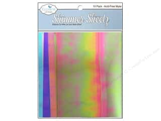 Elizabeth Craft Designs Craft & Hobbies: Elizabeth Craft Shimmer Sheetz Gemstone Sampler 10pc
