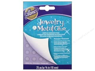 Adhesive Tabs Craft Glues, Adhesives & Tapes: Aleene's Jewelry and Metal Glue Acrylic Adhesive Tabs 25 pc.
