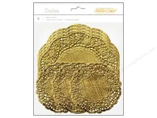 Studio Calico  Lemonlush Paper Doily Assorted Gold
