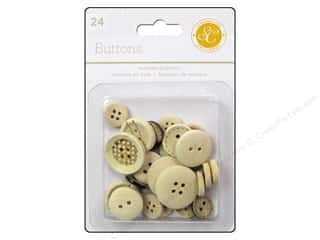 Studio Calico Wanderlust Buttons Wooden