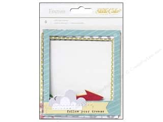 Picture/Photo Frames Scrapbooking & Paper Crafts: Studio Calico Embellishments Wanderlust Stitched Frames