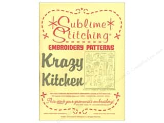 Sublime Stitching: Sublime Stitching Embroidery Transfers Krazy Kitchen