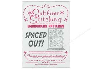 Sublime Stitching Embroidery Transfers Spaced Out